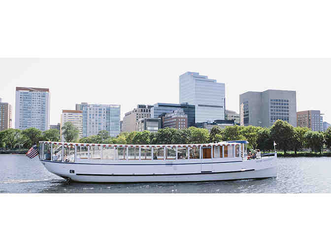 Four Passes for a 70 Minute Charles River Tour