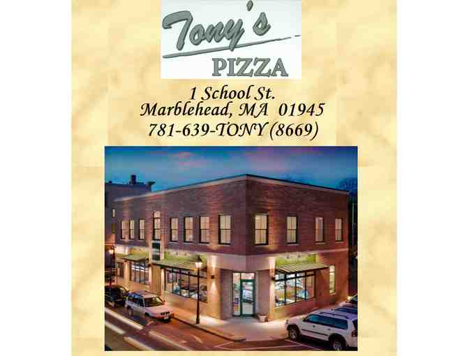 $25 Tony's Pizza Gift Certificate