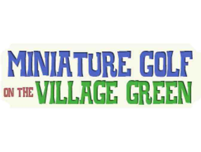 Four Vouchers for Minature Golf on the Village Green