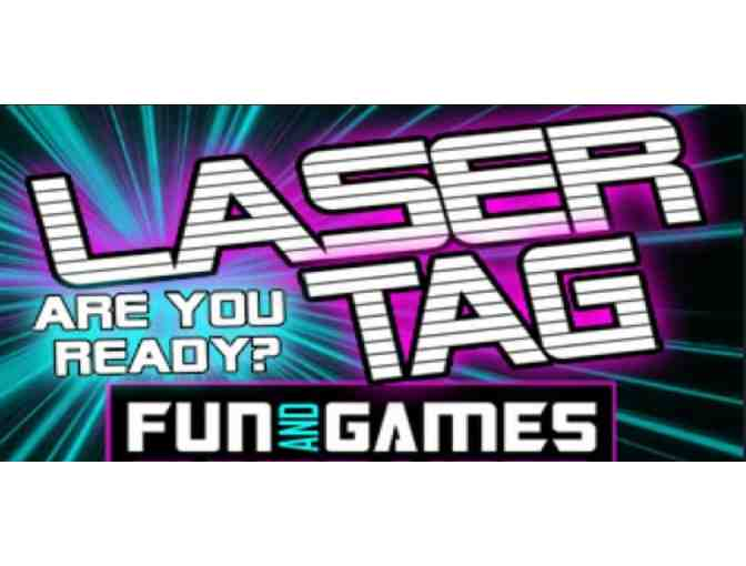 Four Games of Lazer Tag at Fun and Games