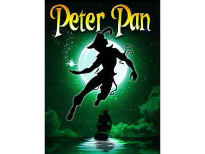 2 Tickets to Peter Pan at the North Shore Music Theatre