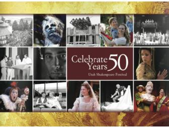 Utah Shakespeare Festival 50th Anniversary Souvenir Package
