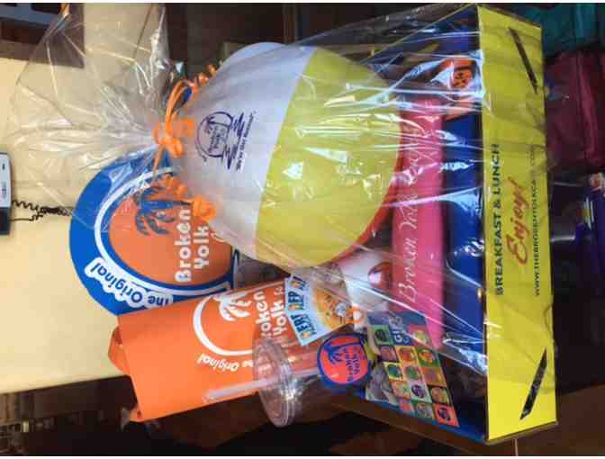 $50 Gift Card and a Basket of Swag to The Broken Yolk - Photo 1