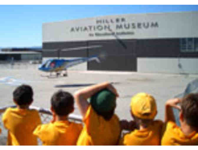 Hiller Aviation - Two VIP Passes Good for Four Admission Tickets