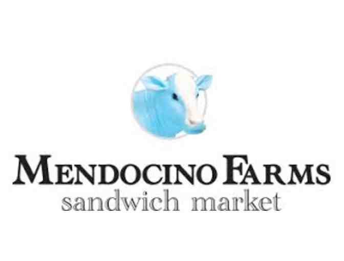 Mendocino Farms - Catering Package with Two Food and Beverage Vouchers