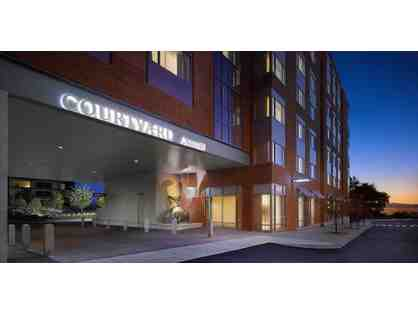 1 Night Stay at Courtyard Burlington Harbor Hotel and Dinner at Bleu Northeast Seafood