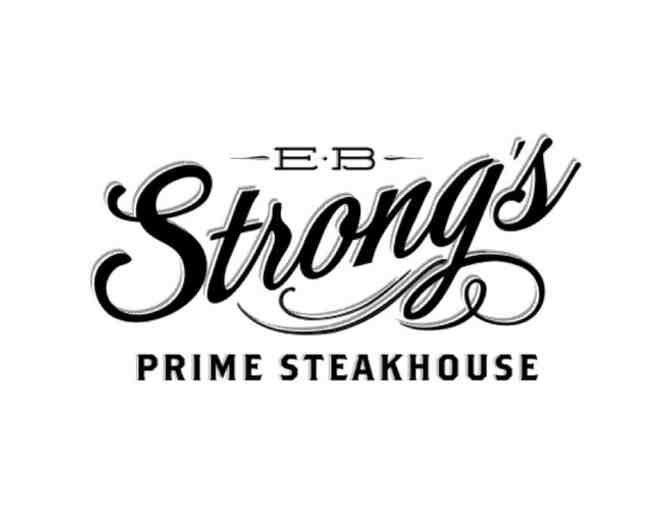 $100 Gift Certificate to EB Strong's