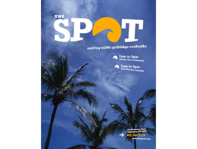 The Spot $50 Gift Certificate