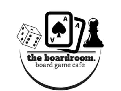$25 Gift Certificate to The Boardroom