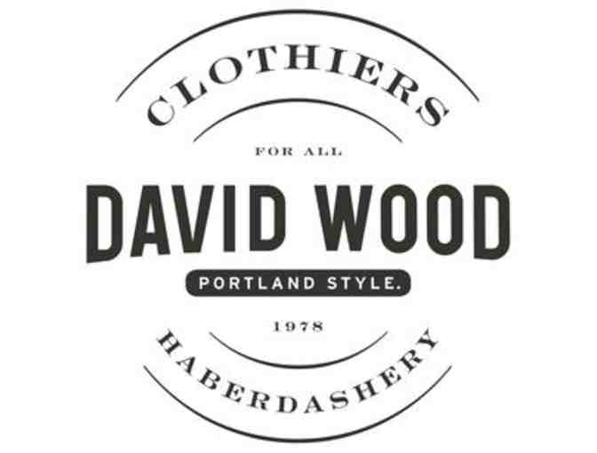 $500 GC to David Wood Clothiers - Photo 1