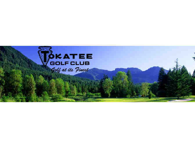 Tokatee Golf Course - Gift Certificate - Golf for Two!
