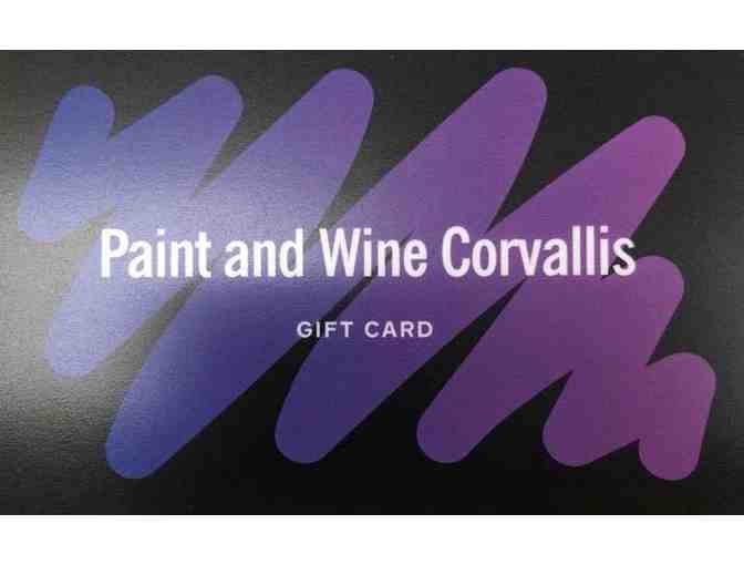 Paint and Wine Gift Card
