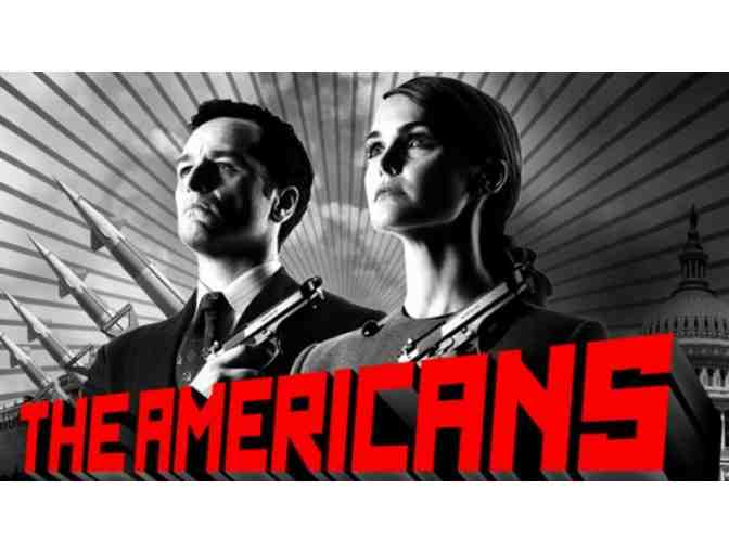 Visit the Set of the Hit show 'The Americans'