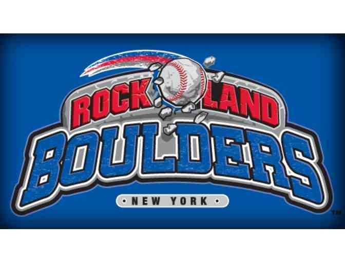 Four Tickets to see The Rockland Boulders Baseball - Photo 1