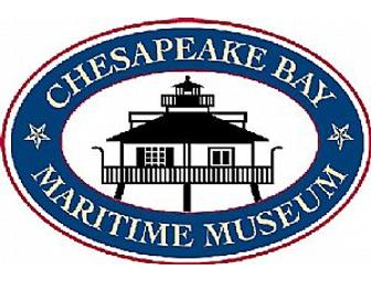 Chesapeake Bay Maritime Museum General Admission for Four Adults