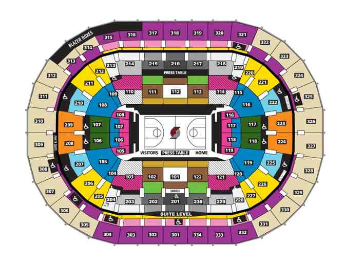 2020 Blazer Game Tickets - Qty 4 at 100 Level - Photo 2