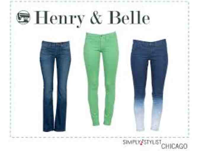 Henry and Belle Jeans (2nd Session)