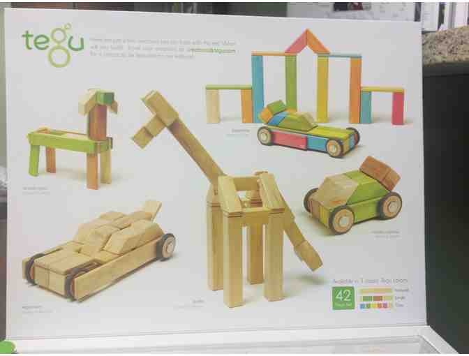 Tegu Blocks - 42 Piece Jungle Set