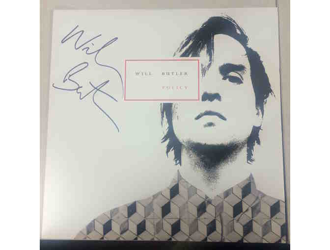 Will Butler Autographed Record and Free Download
