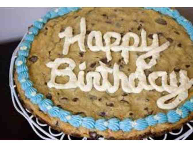 Happy Birthday Chocolate Chip Cookie Cake (1st session)