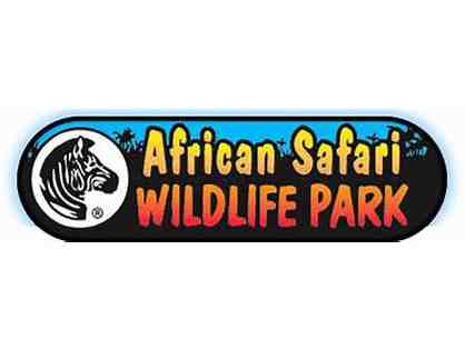 VIP Car Pass for 8 to African Safari Wildlife Park in Port Clinton, OH