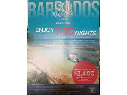 7-10 Nights at The Club Barbados Resort & Spa from Elite Island Resorts