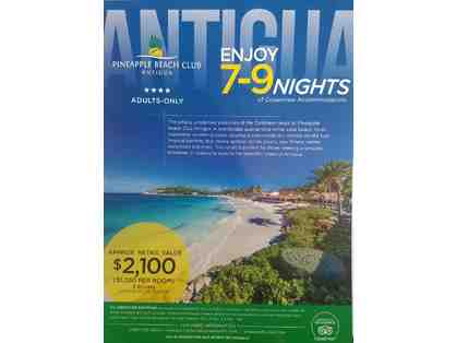 7-9 nights at Pineapple Beach Club Antigua