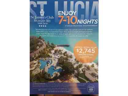 7 to 10 nights at St. James's Club Morgan Bay Saint Lucia