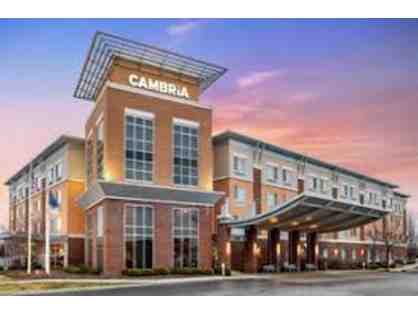 1 Night Stay at Cambria Hotels and Suites Noblesville, Indiana