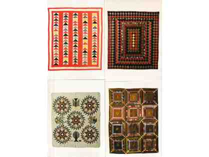 Antique Quilts Postcard Lot