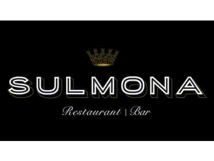 $50 Gift Card to Sulmona
