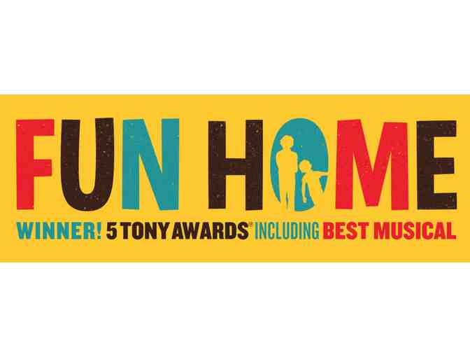 2 Tickets to Broadway Tour of FUN HOME at Bushnell Center in Hartford CT!