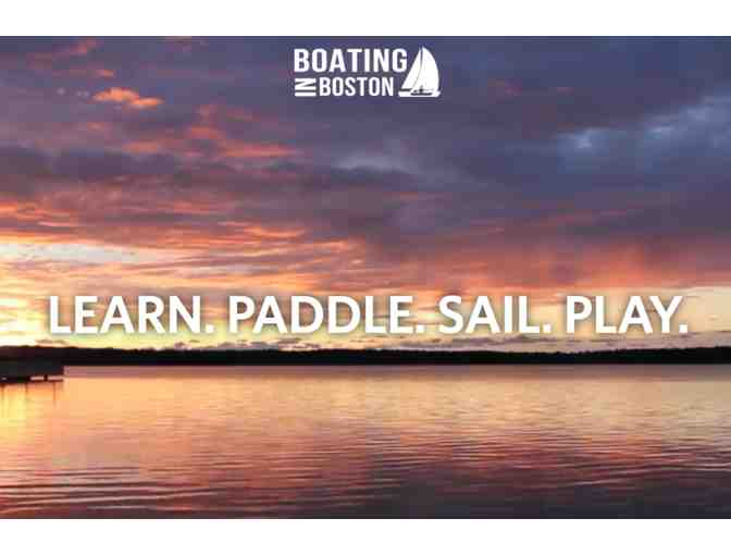 Boating in Boston - Season Pass for One Adult!