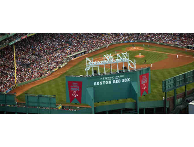 4 Tickets to the Boston Red Sox at Fenway Park on August 27th!