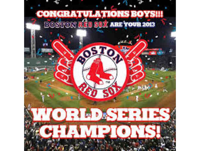 2 Tickets to the Boston Red Sox at Fenway Park June 26th!