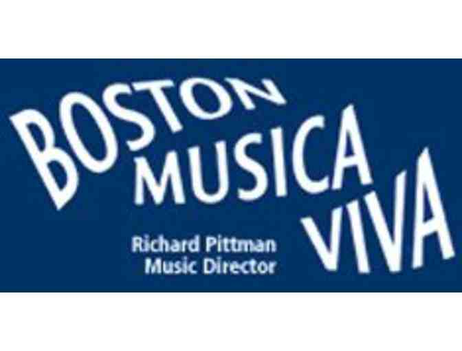 Boston Musica Viva's 2020-2021 Season! 4 tickets! - Photo 1