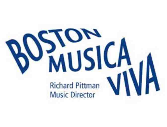 Boston Musica Viva's 2020-2021 Season! 4 tickets! - Photo 4
