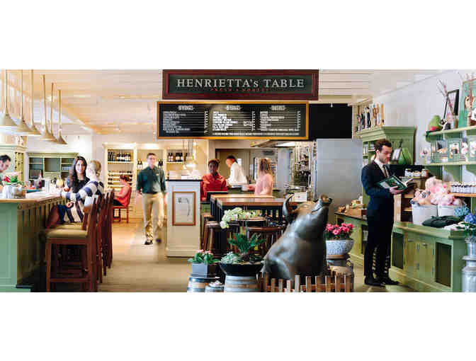 Dinner for two at Henrietta's Table in the Charles Hotel