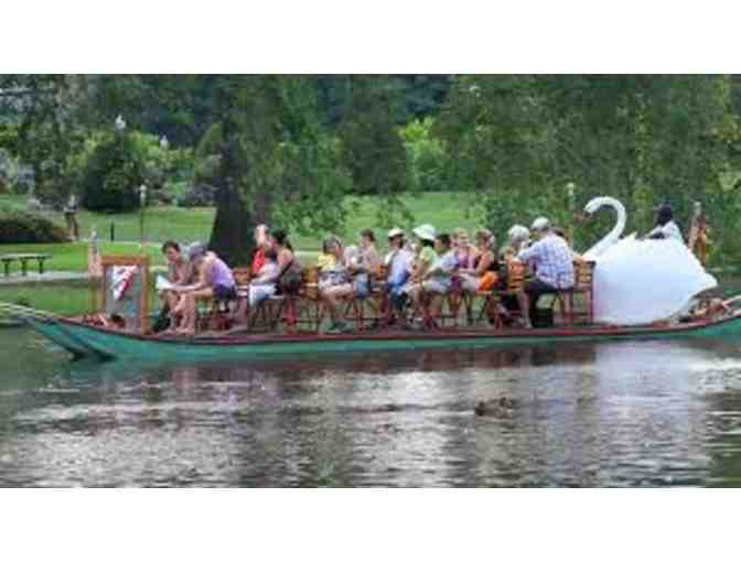 Boston Swan Boat Ride for 4 adults or children!!!!