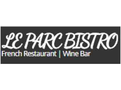 $100 Gift Certificate to Le Parc Bistro in Frederick, MD