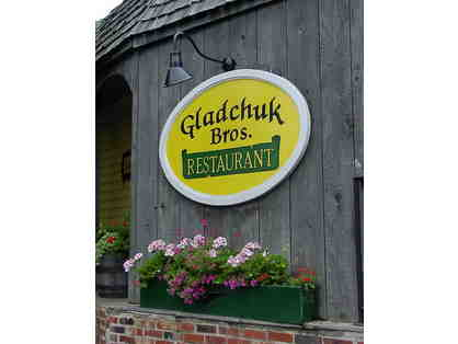 $50 Gift Certificate to Gladchuk Bros. Restaurant in Frederick, MD