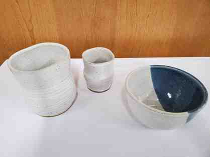 3 Peice Pottery Set