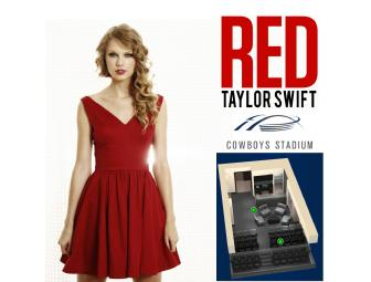 Taylor Swift RED Concert Tickets in a Luxury Suite