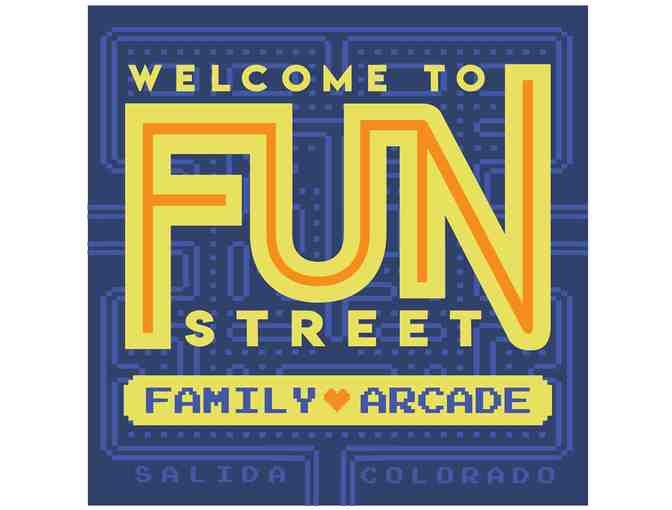 Private party at Fun Street Family Arcade