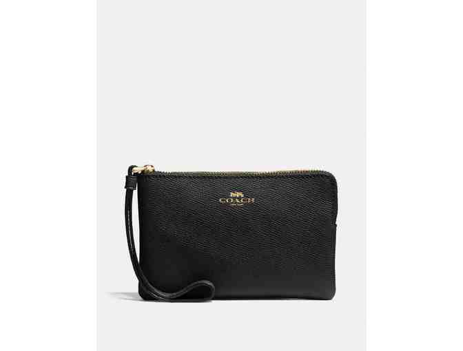 Coach Black Wristlet - Photo 1