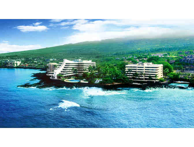 Two (2) Nights Ocean View Room Accommodations at the Royal Kona Resort