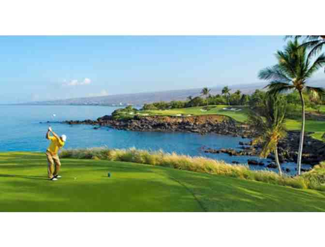 Round of Golf for Four at Mauna Kea Golf Course