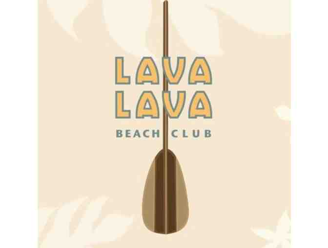 $25 Lava Lava Beach Club Gift Certificate - Photo 1