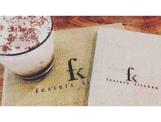 $100 Gift Card to Foster's Kitchen