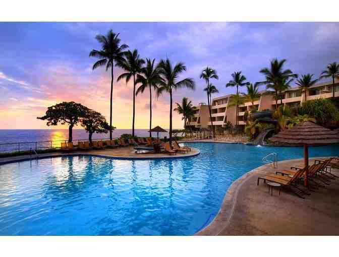 Two Night Stay in Ocean View Room at the Sheraton Kona Resort and Spa at Keauhou Bay